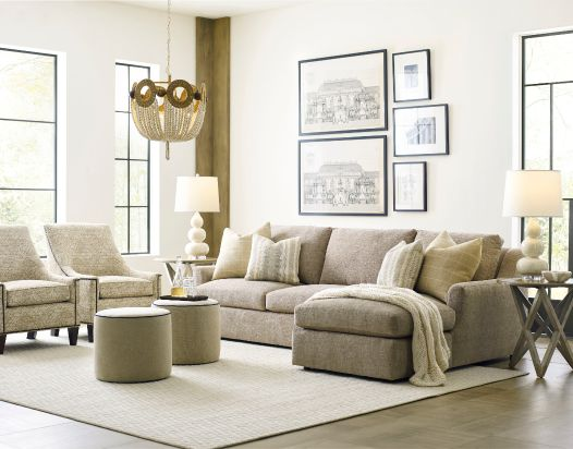 Comfort Select Reveal Arm Sectional