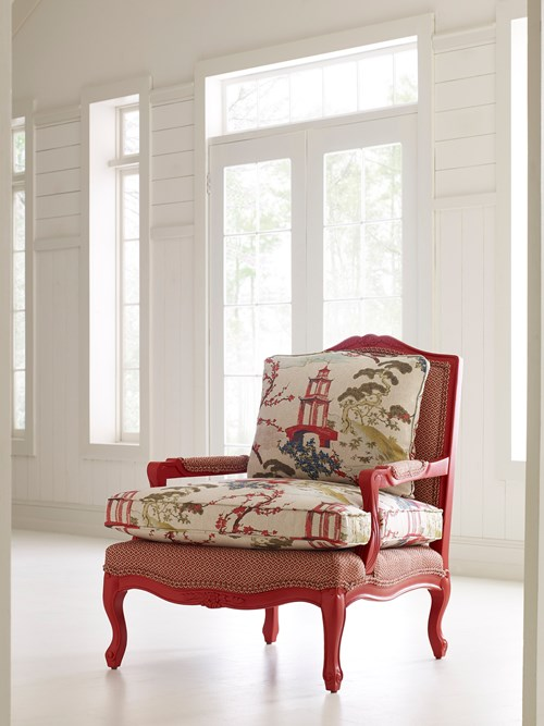 Colorpop...red accent chair