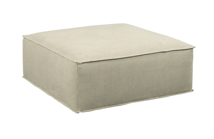 SQUARE LOUNGING OTTOMAN