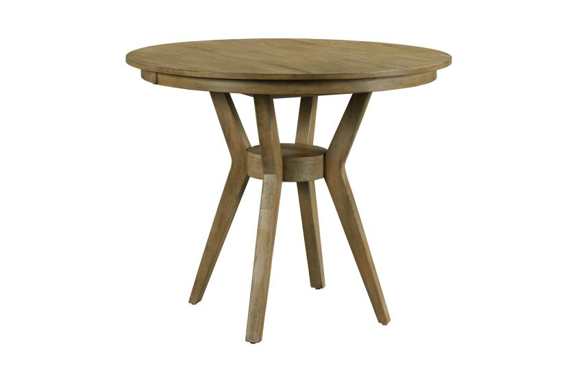 "44"" ROUND COUNTER HEIGHT DINING TABLE COMPLETE"