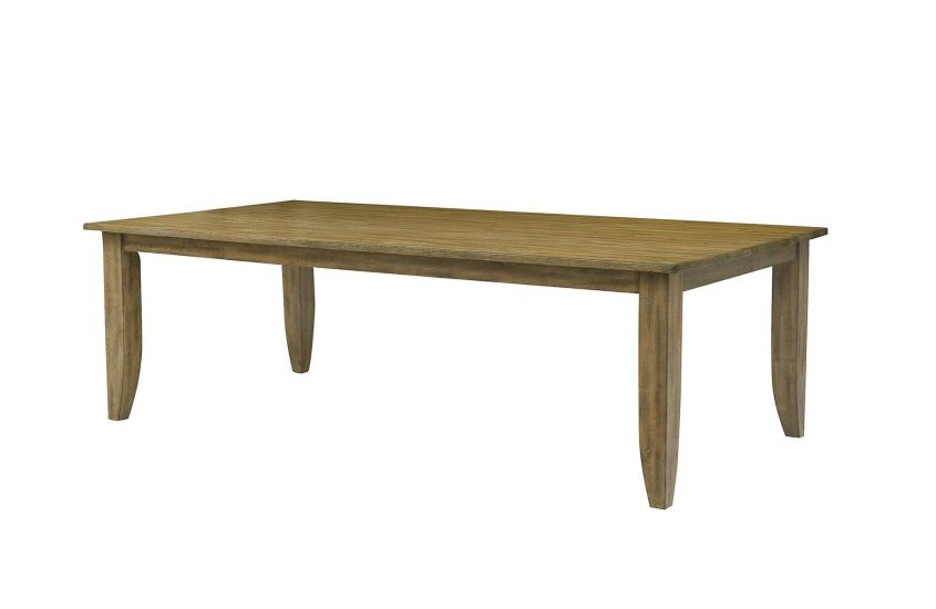 "80"" LARGE RECTANGULAR LEG TABLE"