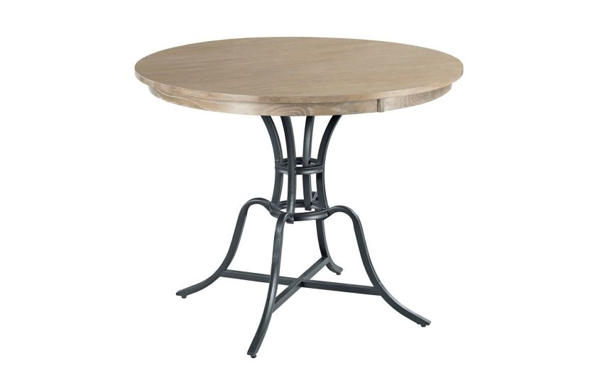 "44"" ROUND COUNTER HEIGHT TABLE COMPLETE"