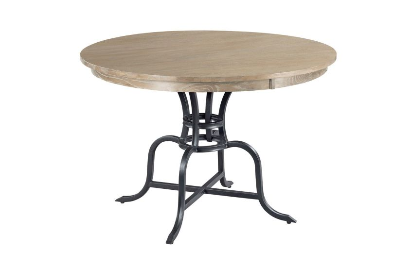 "44"" ROUND DINING TABLE COMPLETE"