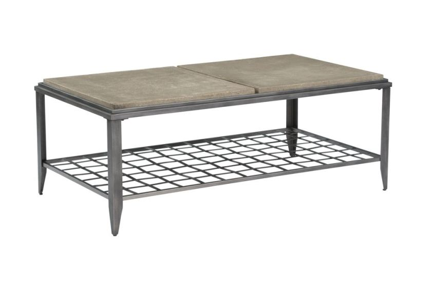 Grid Rectangular Cocktail Table