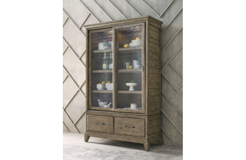 thumbslider  sc 1 st  Kincaid Furniture & DARBY DISPLAY CABINET-COMPLETE