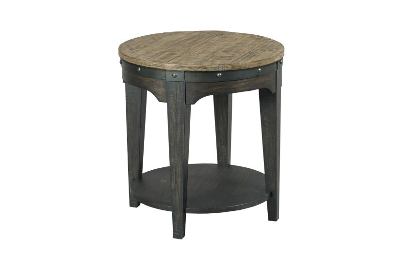 ARTISANS ROUND END TABLE