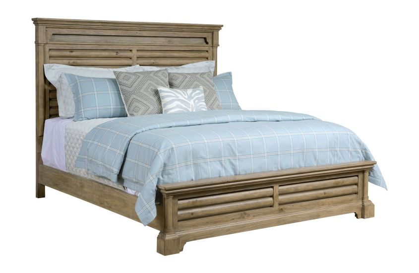 PACIFICA CA KING PANEL BED - COMPLETE