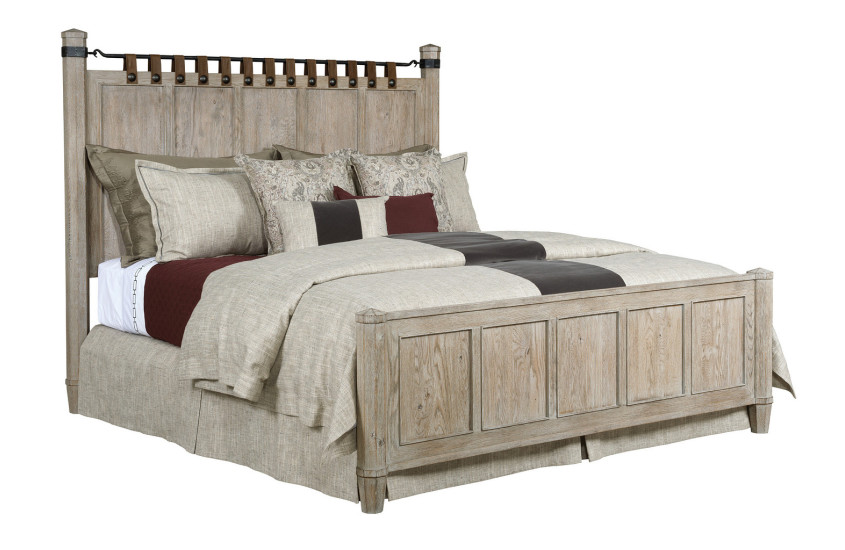 NEWLAND CAL KING BED - COMPLETE