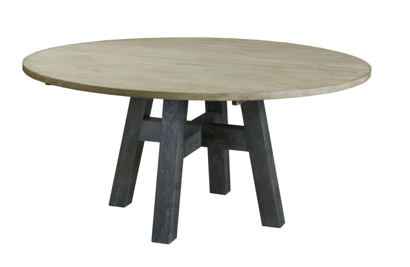 "LAYTON 52"" ROUND DINING TABLE - COMPLETE"
