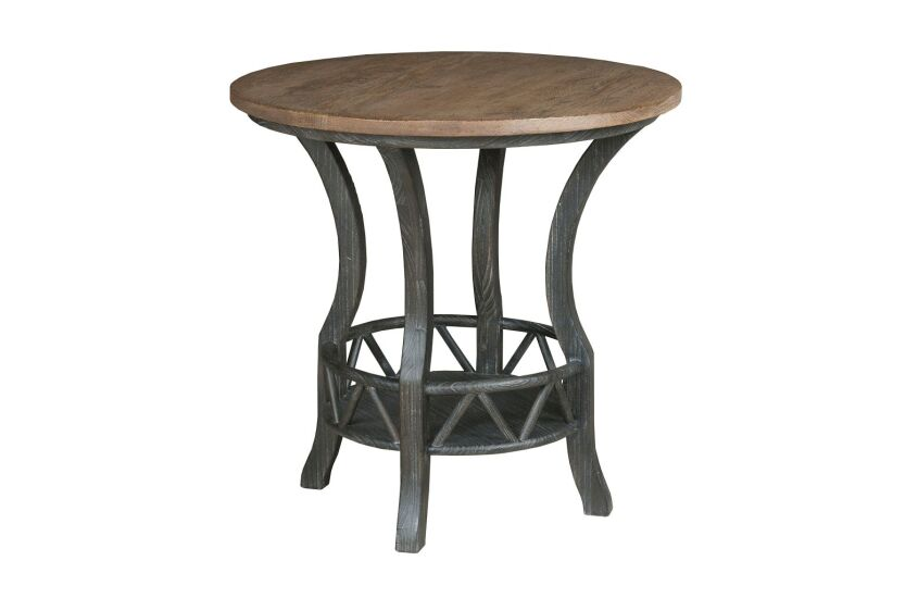 PISGAH ROUND LAMP TABLE
