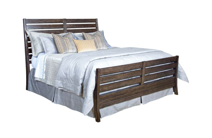 RAKE KING BED - COMPLETE