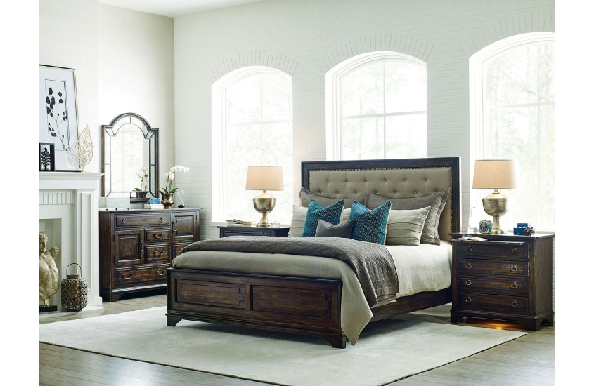 d7472a09924d32 TWEED KING BED - COMPLETE
