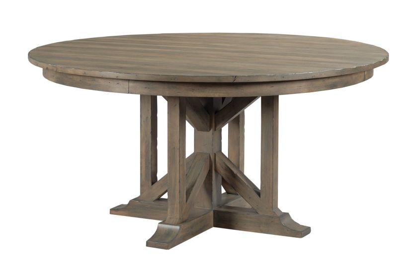 ROGERS ROUND DINING TABLE - COMPLETE