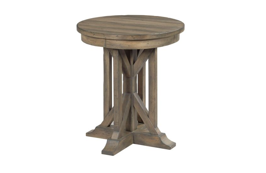 "22"" JAMES ROUND END TABLE"