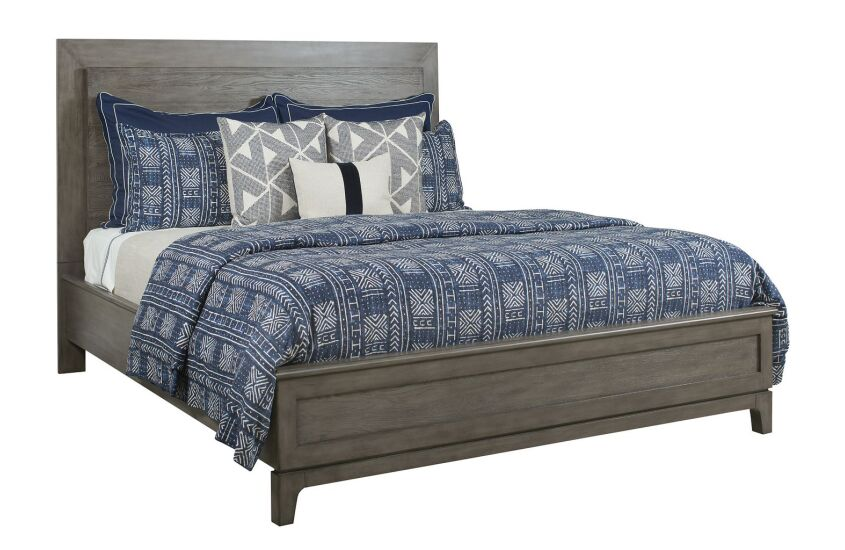 KLINE CAL KING PANEL BED - COMPLETE
