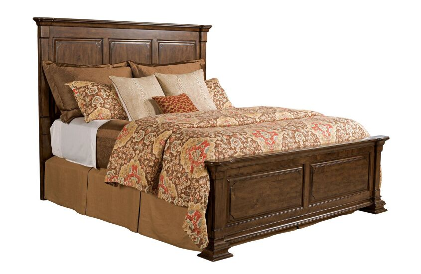 MONTERI KING PANEL BED - COMPLETE