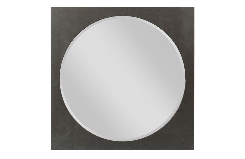 SQUARE METAL MIRROR