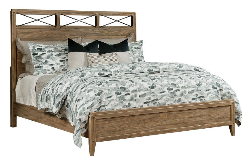 JACKSON PANEL KING BED - COMPLETE