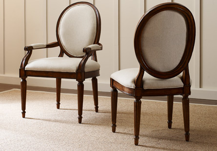 solid wood dining room sets. Dining Room Chairs Solid Wood Furniture by Kincaid