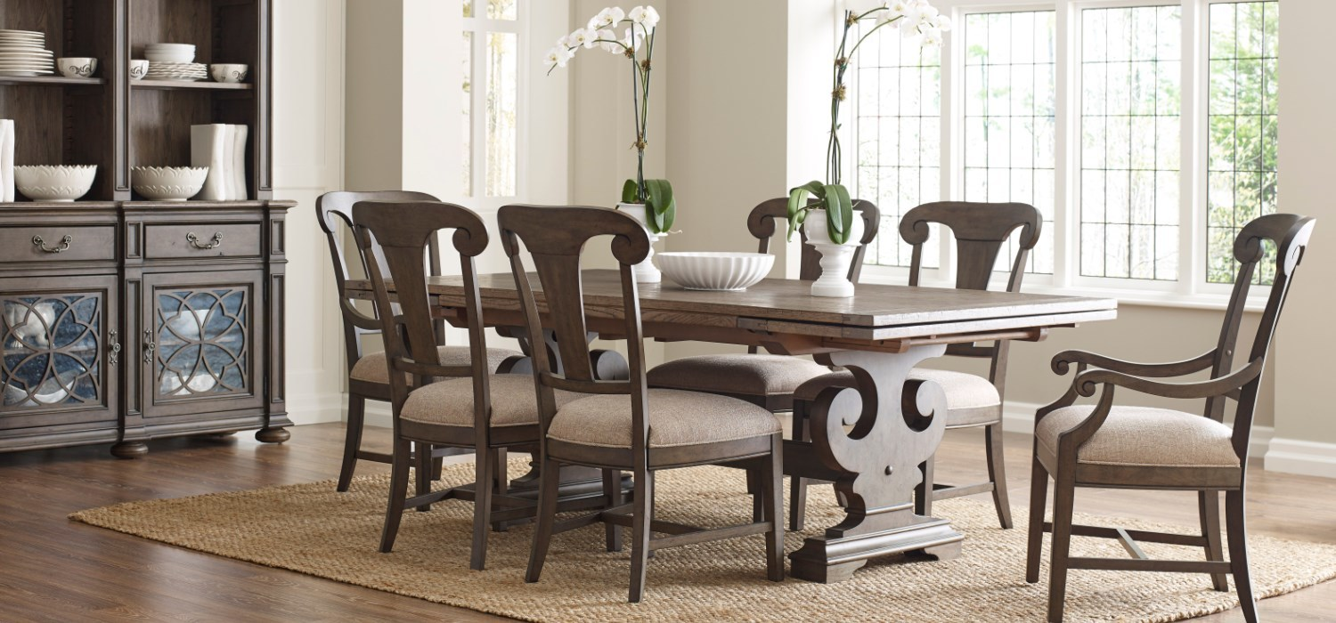 Kincaid Furniture Solid Oak Dining Room small