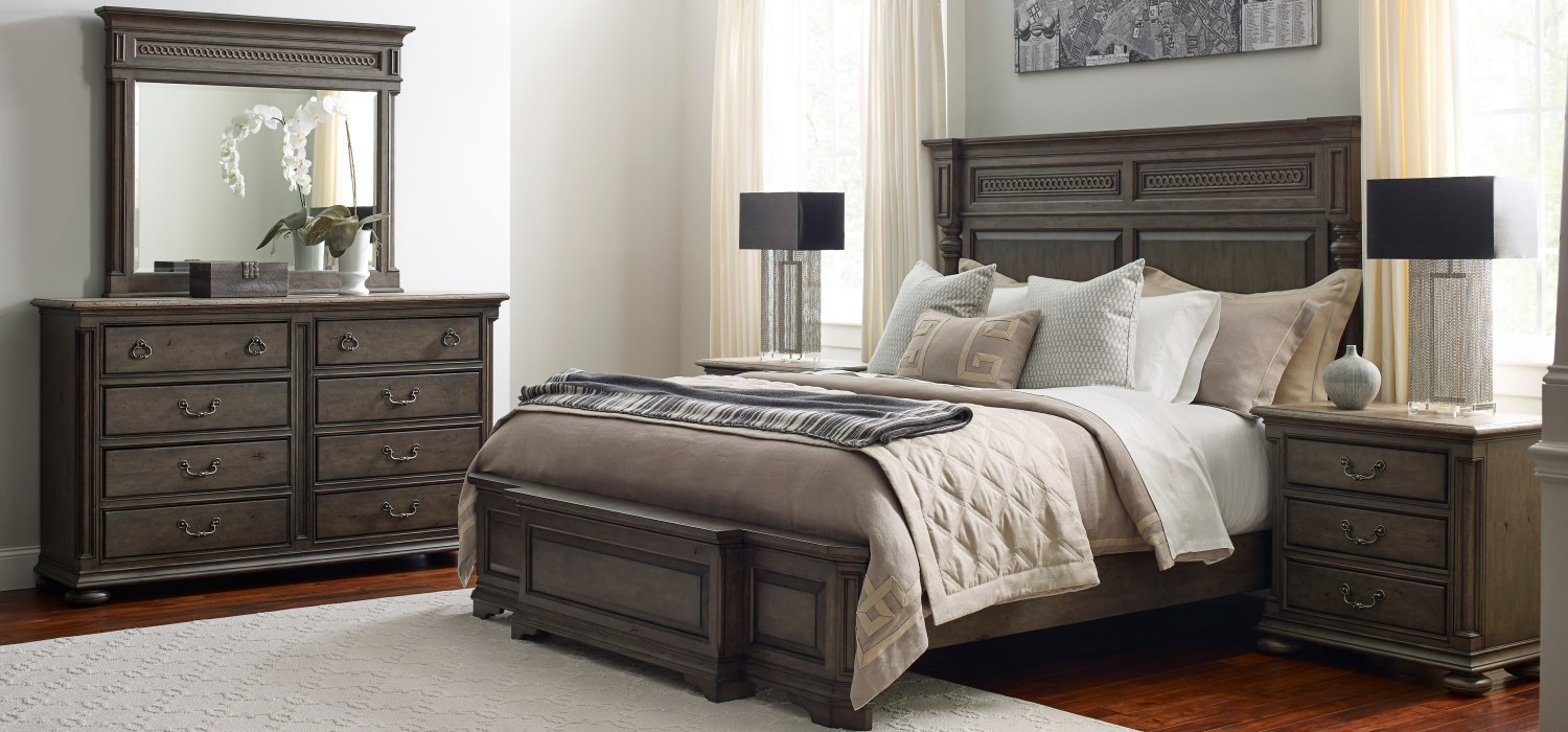 Kincaid Furniture Solid Oak Bedroom small