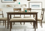 The Nook solid oak dining table thumbnail