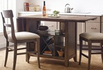 The Nook solid oak kitchen island thumbnail