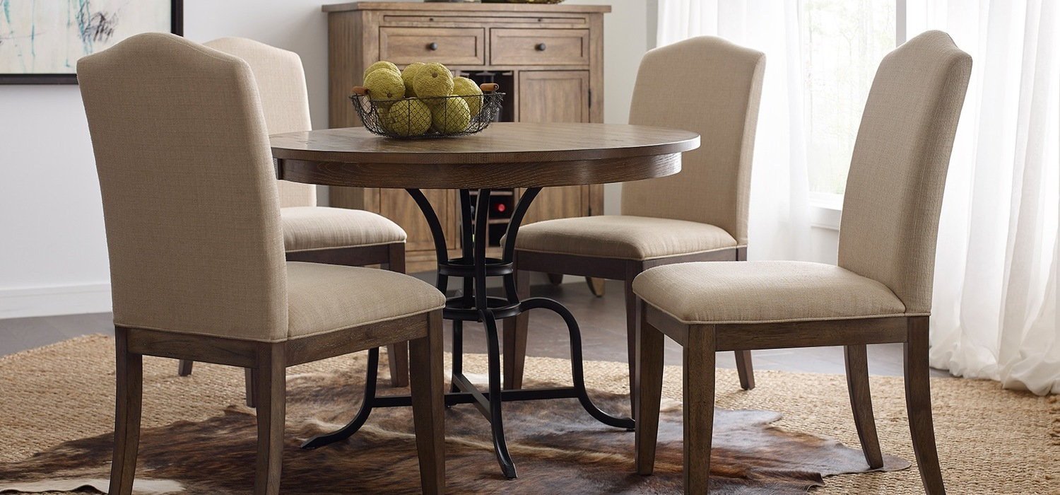 The Nook Solid Oak Round Dining Table