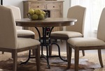 The Nook solid oak round dining table thumbnail