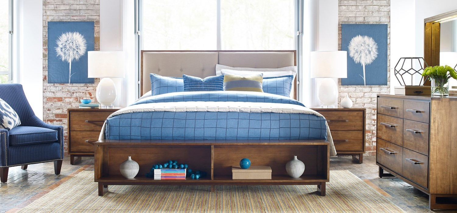 Traverse By Kincaid Solid Wood Furniture Featuring Ambrosia Maple - Kincaid tuscano bedroom furniture