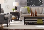 Plank Road solid wood tables and custom sofa by Kincaid Furniture thumbnail