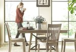 Modern style casual dining in solid wood thumbnail
