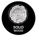 Solid Wood - Made using genuine sold wood construction